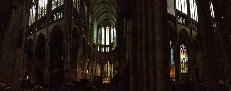 Pano inside church
